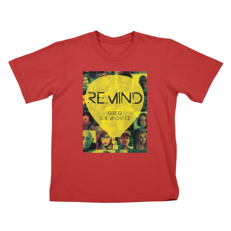 REMIND Cover A Kids T-Shirt by Spaceboy Books LLC's Artist Shop
