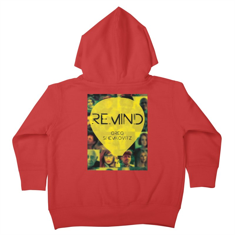 REMIND Cover A Kids Toddler Zip-Up Hoody by Spaceboy Books LLC's Artist Shop