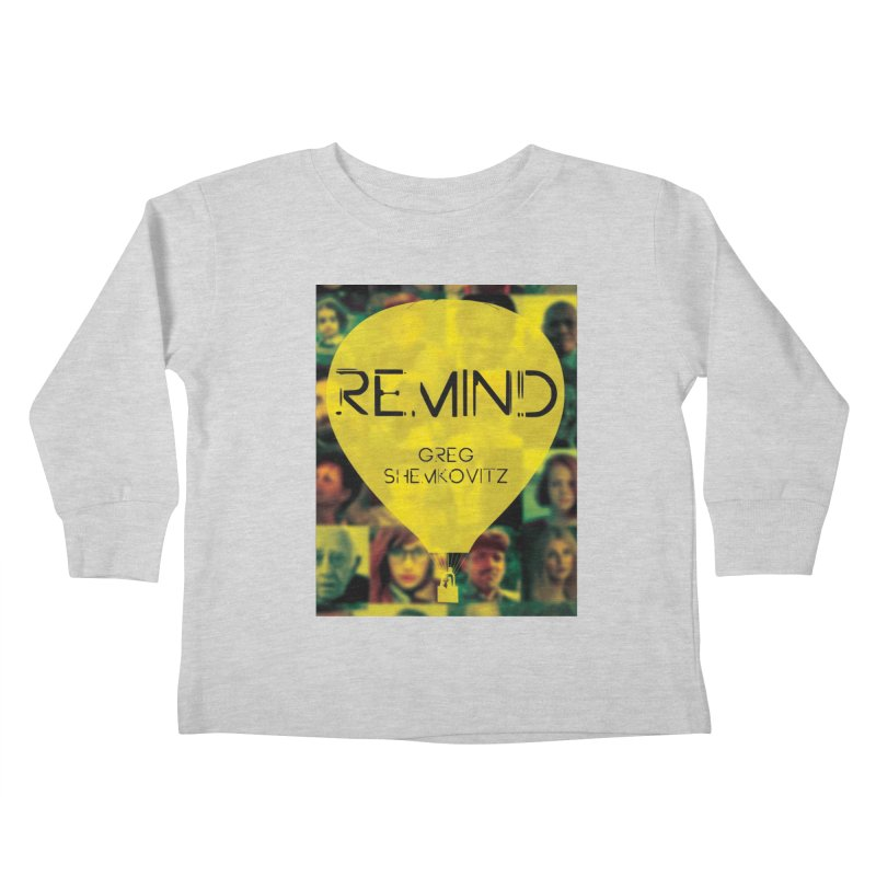 REMIND Cover A Kids Toddler Longsleeve T-Shirt by Spaceboy Books LLC's Artist Shop