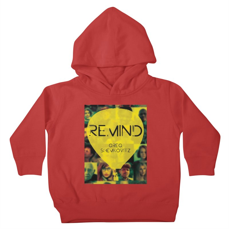 REMIND Cover A Kids Toddler Pullover Hoody by Spaceboy Books LLC's Artist Shop