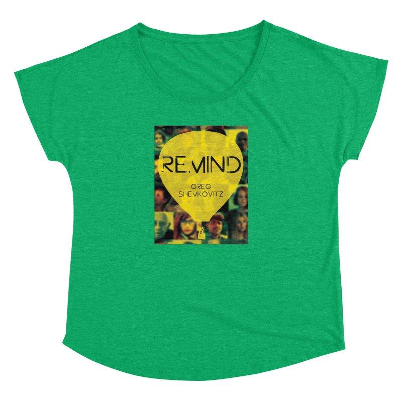 REMIND Cover A Women's Dolman Scoop Neck by Spaceboy Books LLC's Artist Shop