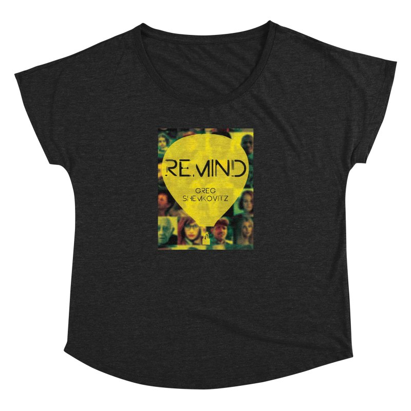 REMIND Cover A Women's Dolman Scoop Neck by Spaceboy Books LLC's Artist Shop