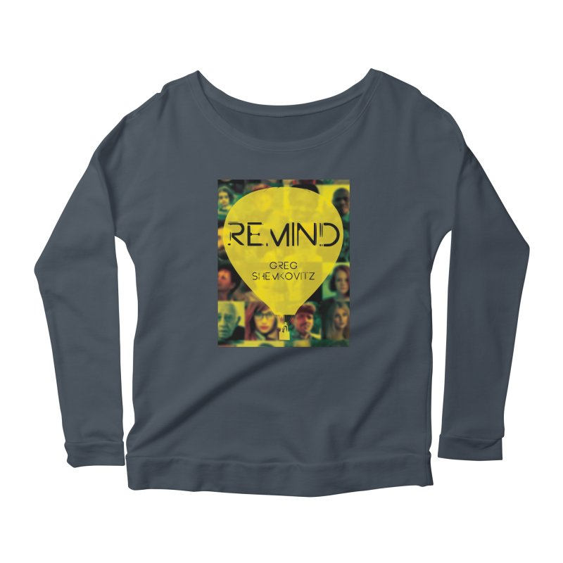REMIND Cover A Women's Scoop Neck Longsleeve T-Shirt by Spaceboy Books LLC's Artist Shop