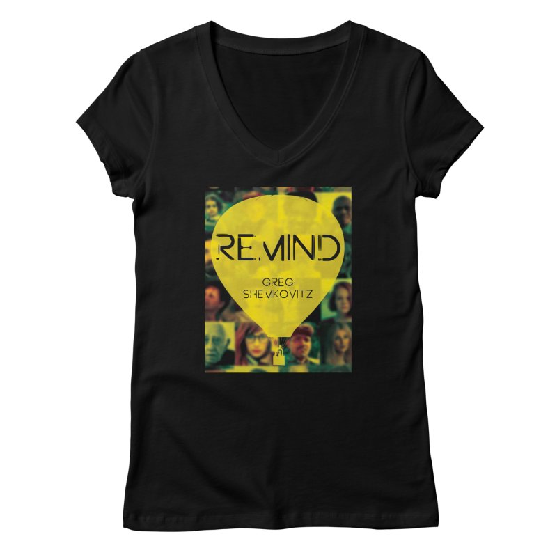 REMIND Cover A Women's V-Neck by Spaceboy Books LLC's Artist Shop