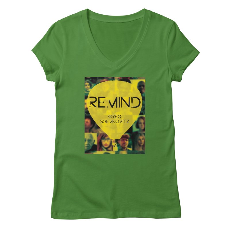 REMIND Cover A Women's Regular V-Neck by Spaceboy Books LLC's Artist Shop