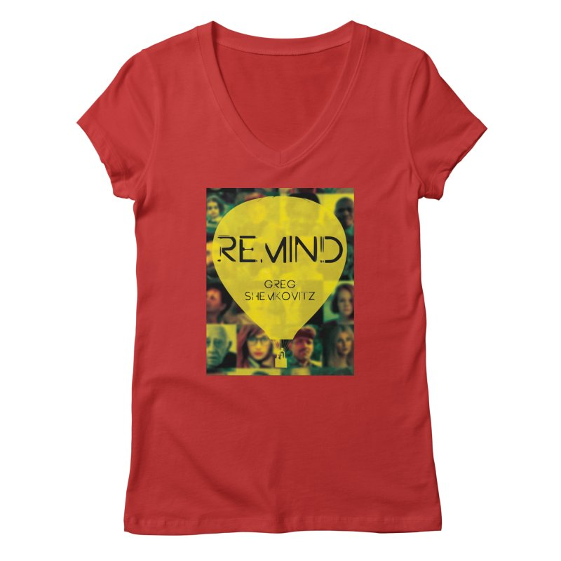REMIND Cover A Women's Regular V-Neck by Spaceboy Books LLC's Artist Shop