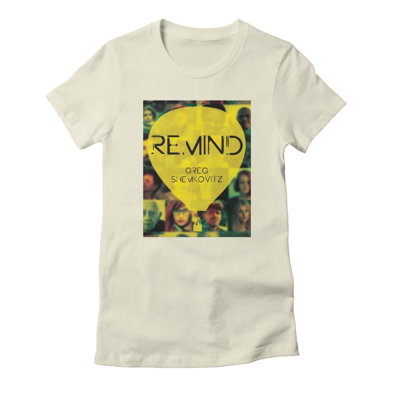 REMIND Cover A Women's Fitted T-Shirt by Spaceboy Books LLC's Artist Shop