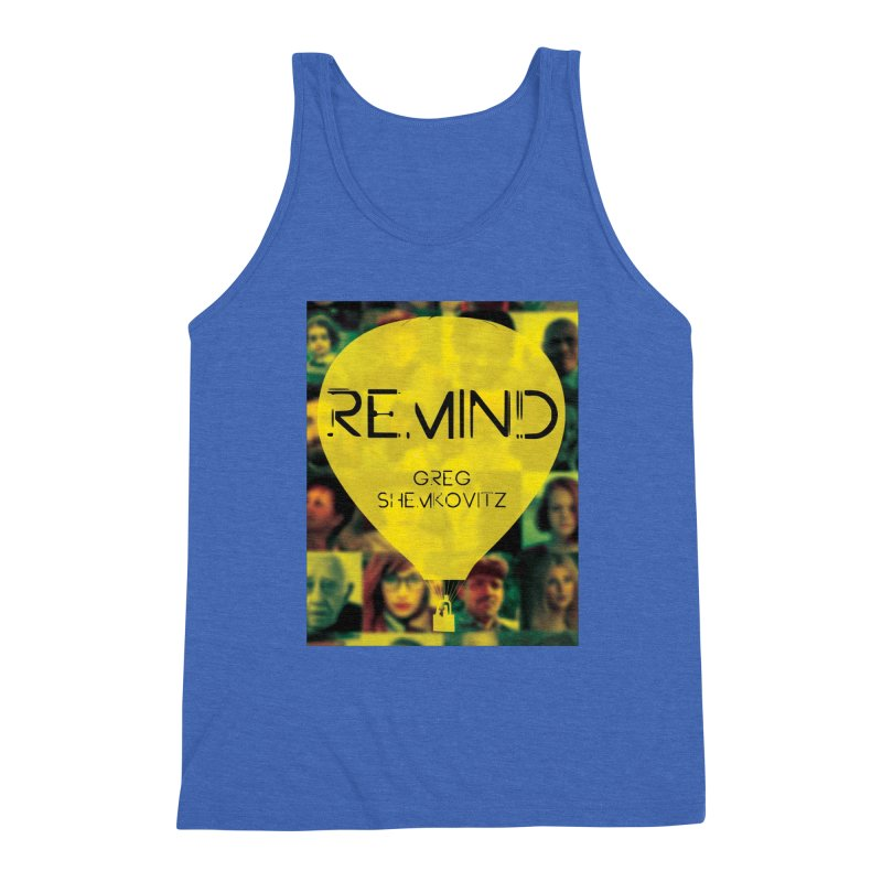 REMIND Cover A Men's Triblend Tank by Spaceboy Books LLC's Artist Shop