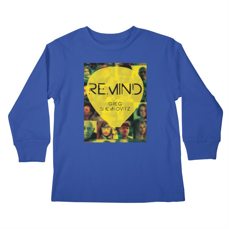 REMIND Cover A Kids Longsleeve T-Shirt by Spaceboy Books LLC's Artist Shop
