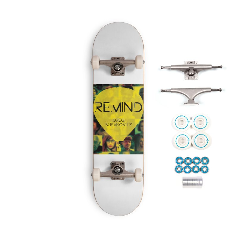 REMIND Cover A Accessories Complete - Basic Skateboard by Spaceboy Books LLC's Artist Shop