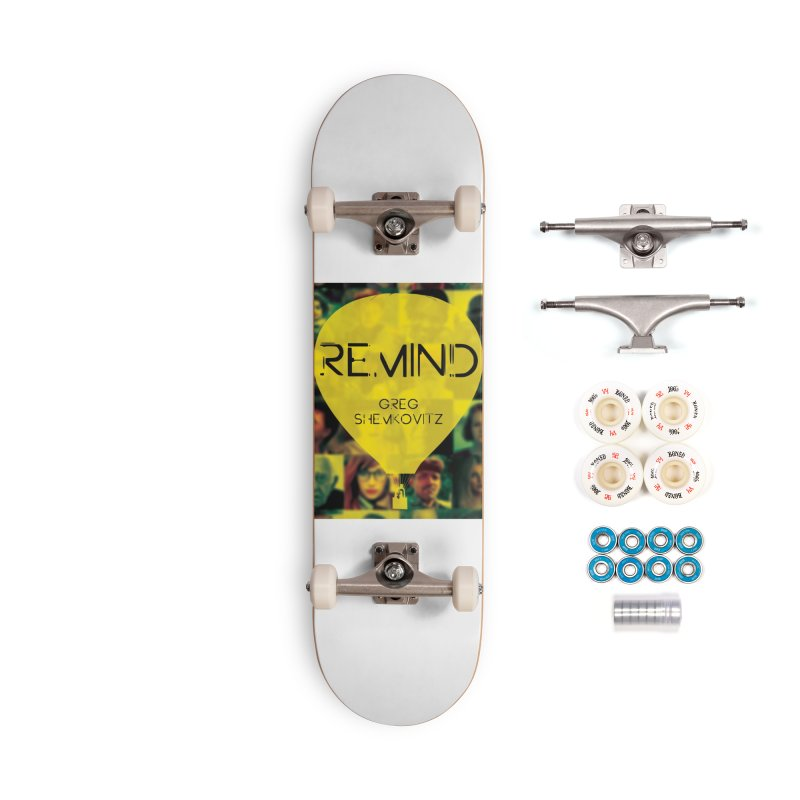 REMIND Cover A Accessories Complete - Premium Skateboard by Spaceboy Books LLC's Artist Shop