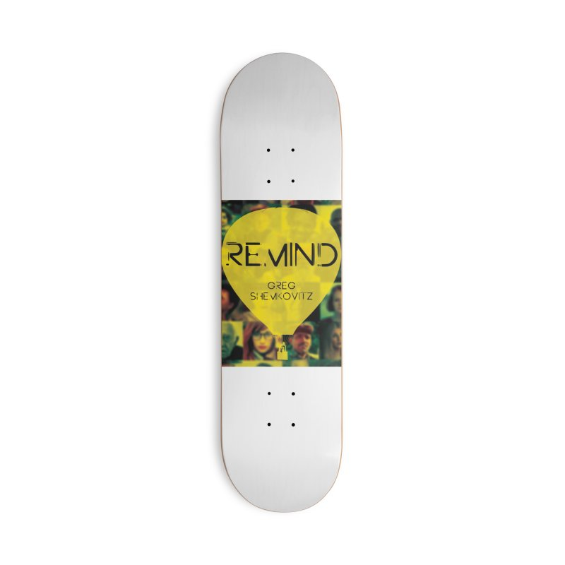 REMIND Cover A Accessories Skateboard by Spaceboy Books LLC's Artist Shop