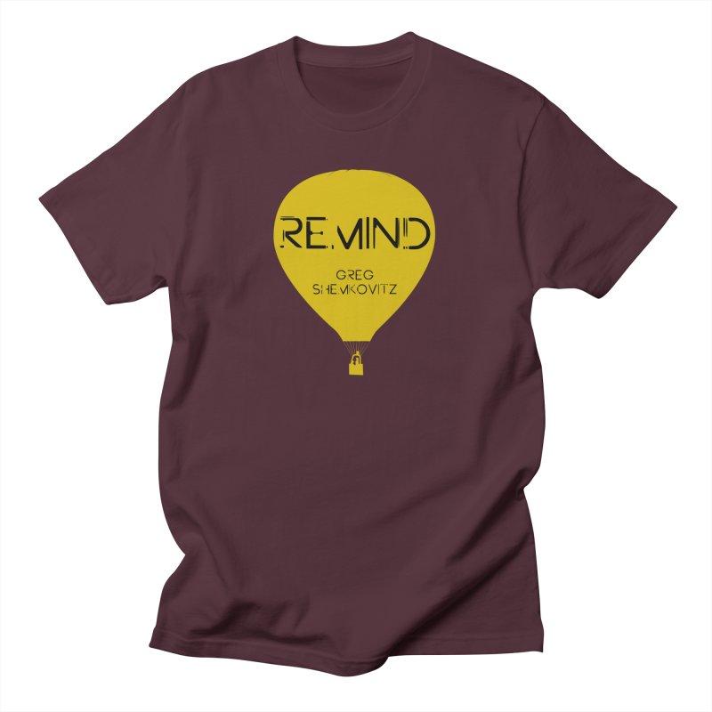 REMIND Balloon A Men's T-Shirt by Spaceboy Books LLC's Artist Shop
