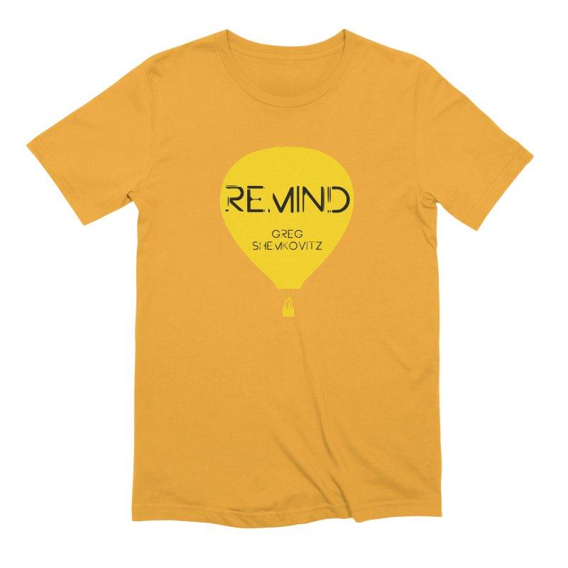 REMIND Balloon A Men's Extra Soft T-Shirt by Spaceboy Books LLC's Artist Shop