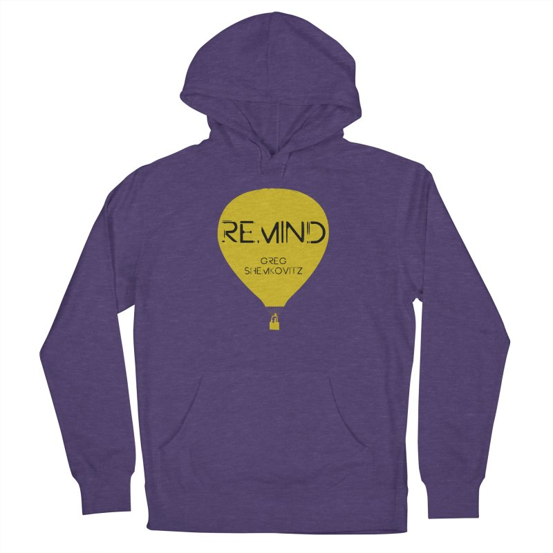 REMIND Balloon A Women's French Terry Pullover Hoody by Spaceboy Books LLC's Artist Shop