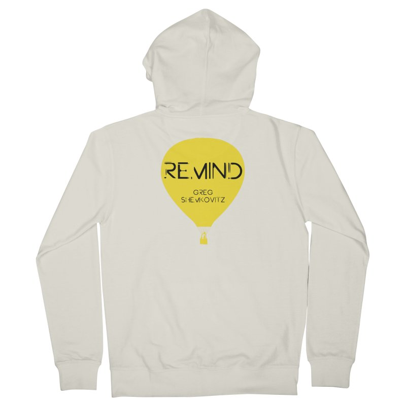 REMIND Balloon A Women's French Terry Zip-Up Hoody by Spaceboy Books LLC's Artist Shop