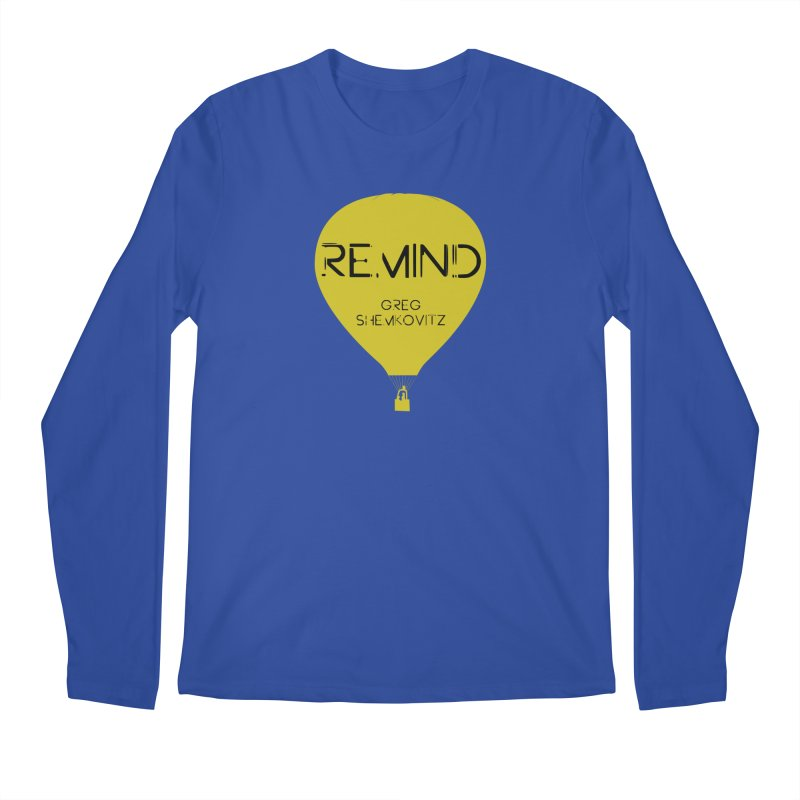 REMIND Balloon A Men's Longsleeve T-Shirt by Spaceboy Books LLC's Artist Shop