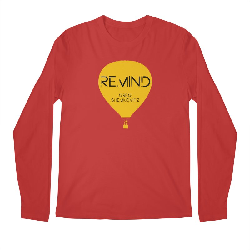 REMIND Balloon A Men's Regular Longsleeve T-Shirt by Spaceboy Books LLC's Artist Shop