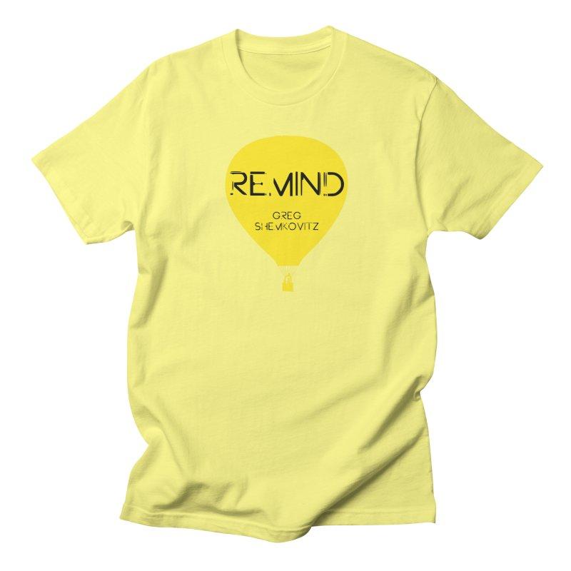 REMIND Balloon A Men's Regular T-Shirt by Spaceboy Books LLC's Artist Shop