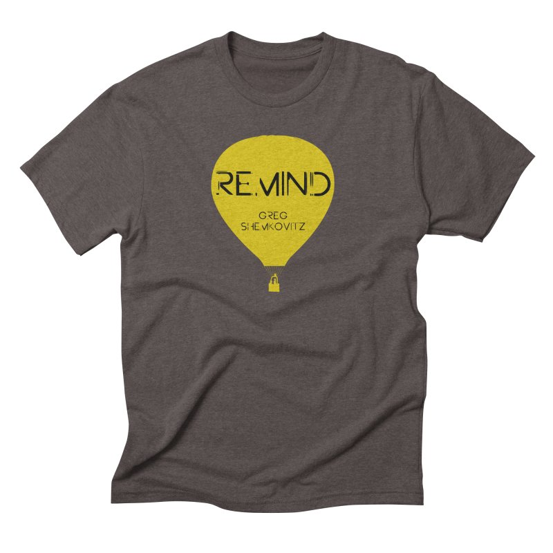 REMIND Balloon A Men's Triblend T-Shirt by Spaceboy Books LLC's Artist Shop