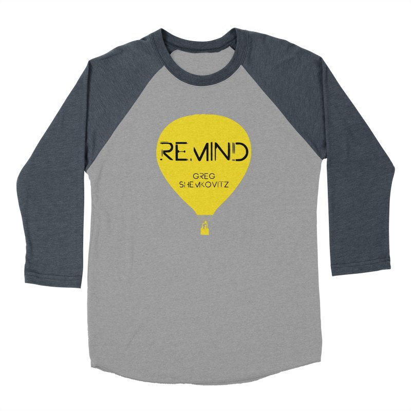REMIND Balloon A Men's Baseball Triblend Longsleeve T-Shirt by Spaceboy Books LLC's Artist Shop