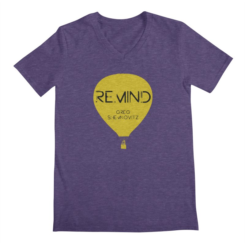 REMIND Balloon A Men's V-Neck by Spaceboy Books LLC's Artist Shop