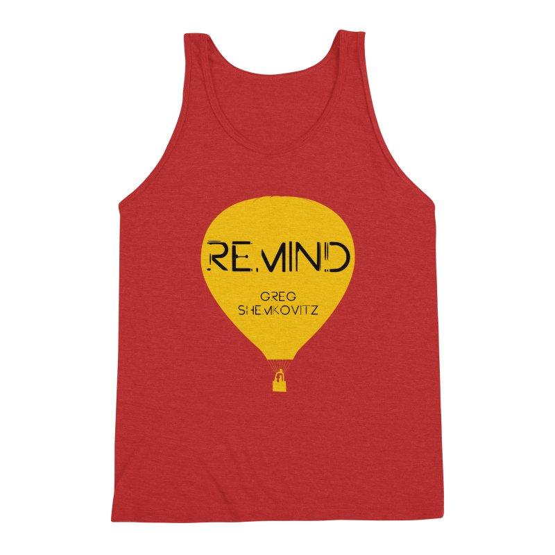REMIND Balloon A Men's Triblend Tank by Spaceboy Books LLC's Artist Shop