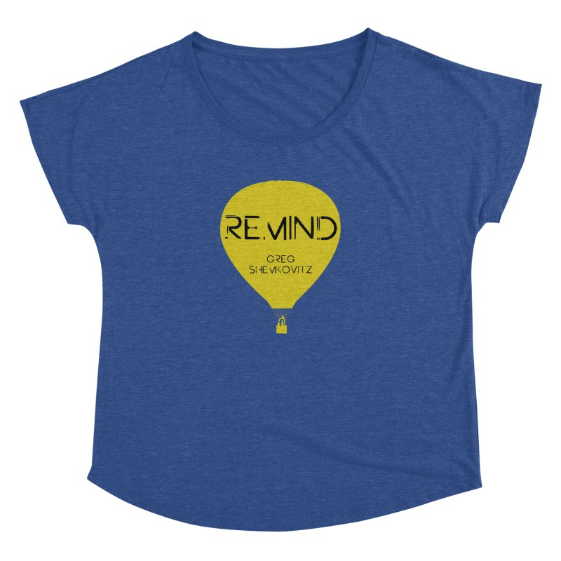REMIND Balloon A Women's Dolman Scoop Neck by Spaceboy Books LLC's Artist Shop