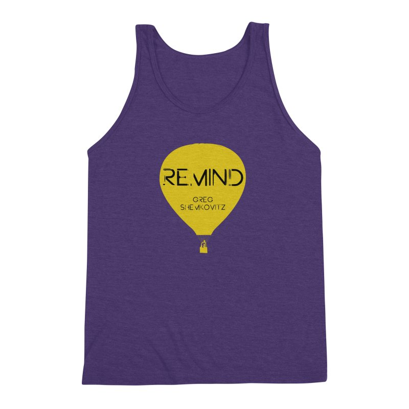 REMIND Balloon A Men's Triblend Tank by Spaceboy Books LLC's Artist Shop