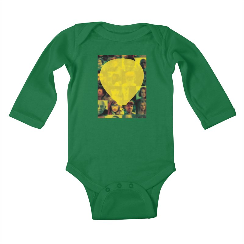 REMIND Cover B Kids Baby Longsleeve Bodysuit by Spaceboy Books LLC's Artist Shop