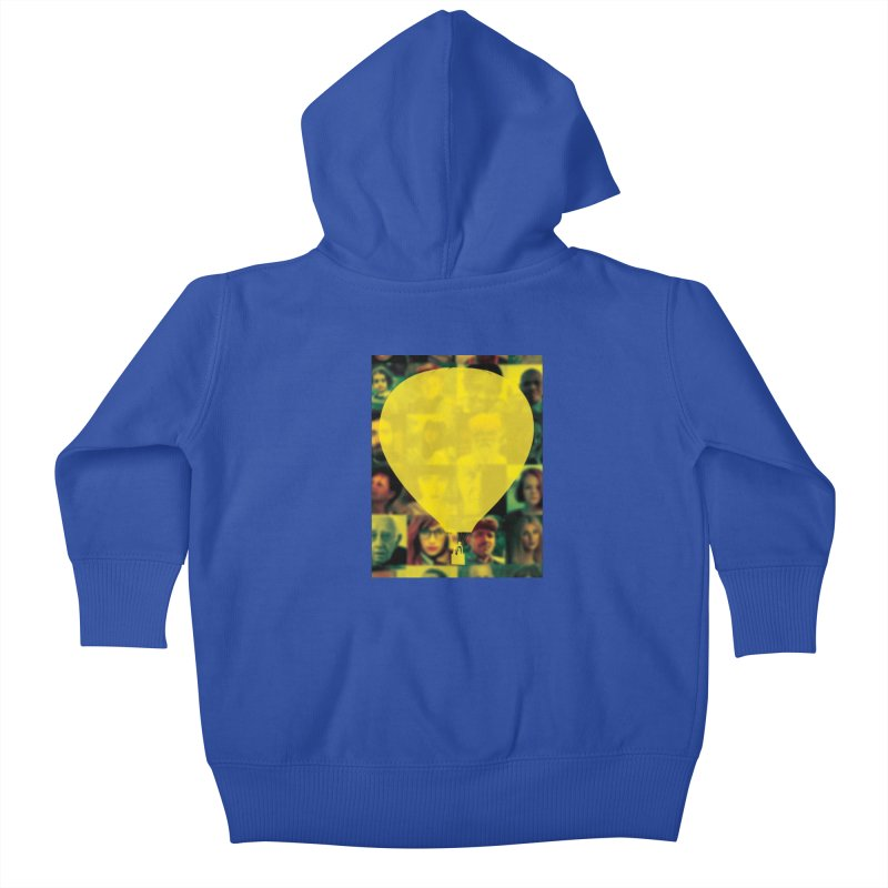 REMIND Cover B Kids Baby Zip-Up Hoody by Spaceboy Books LLC's Artist Shop