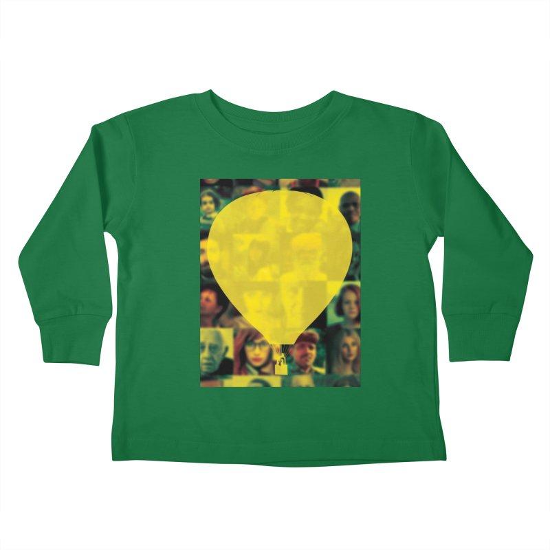 REMIND Cover B Kids Toddler Longsleeve T-Shirt by Spaceboy Books LLC's Artist Shop