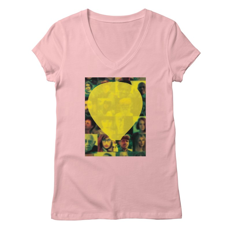 REMIND Cover B Women's Regular V-Neck by Spaceboy Books LLC's Artist Shop