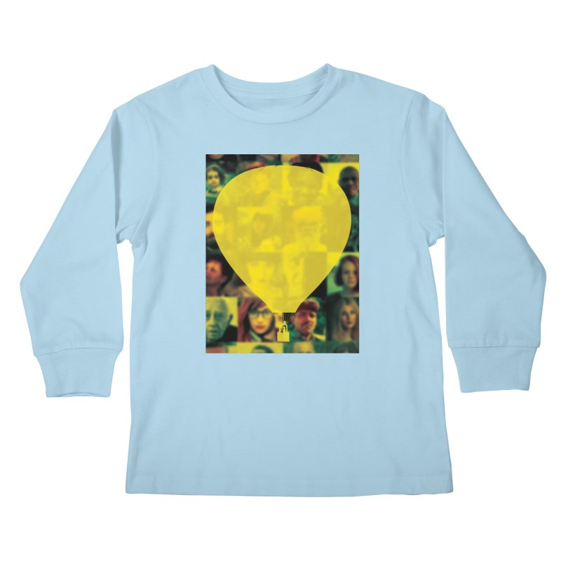 REMIND Cover B Kids Longsleeve T-Shirt by Spaceboy Books LLC's Artist Shop