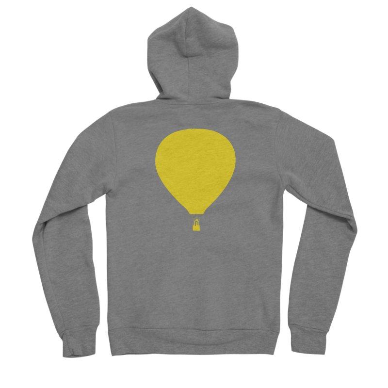 REMIND Balloon B Men's Sponge Fleece Zip-Up Hoody by Spaceboy Books LLC's Artist Shop