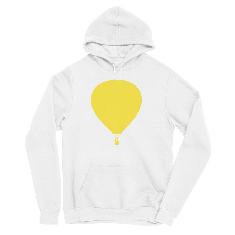 REMIND Balloon B Men's Sponge Fleece Pullover Hoody by Spaceboy Books LLC's Artist Shop