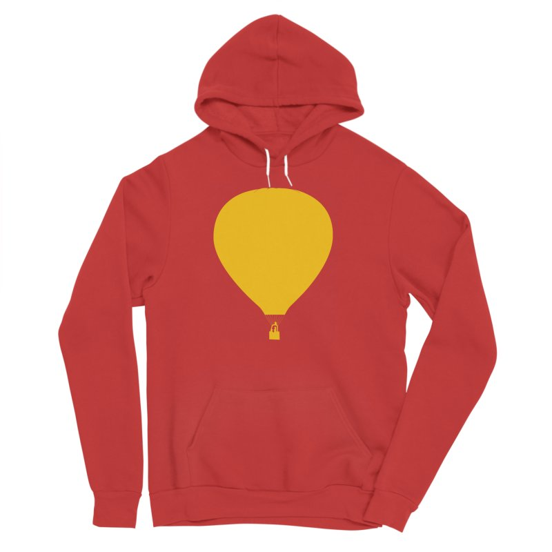 REMIND Balloon B Women's Sponge Fleece Pullover Hoody by Spaceboy Books LLC's Artist Shop