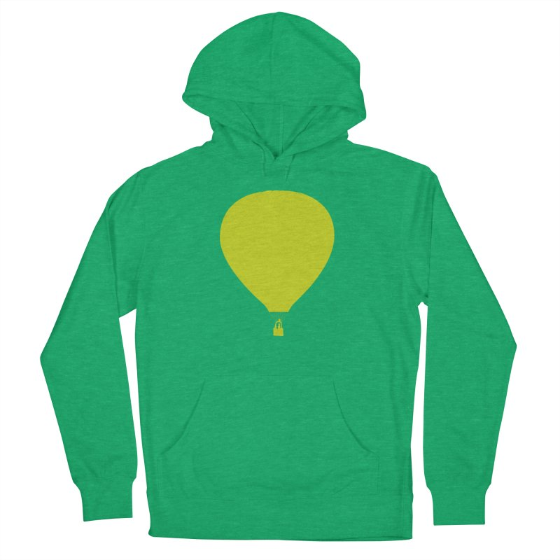 REMIND Balloon B Men's French Terry Pullover Hoody by Spaceboy Books LLC's Artist Shop