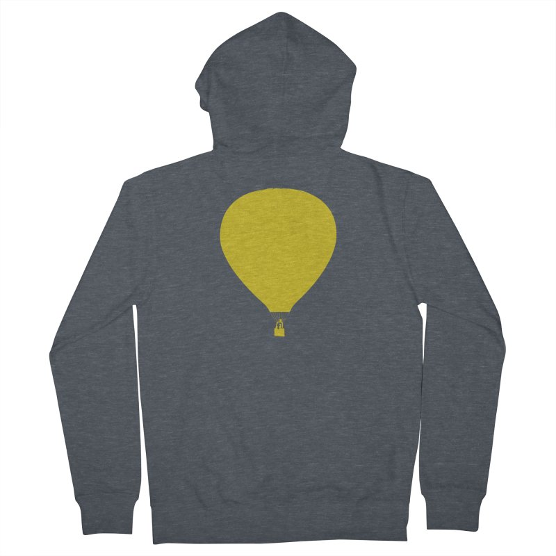REMIND Balloon B Women's French Terry Zip-Up Hoody by Spaceboy Books LLC's Artist Shop