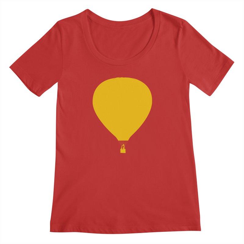REMIND Balloon B Women's Regular Scoop Neck by Spaceboy Books LLC's Artist Shop