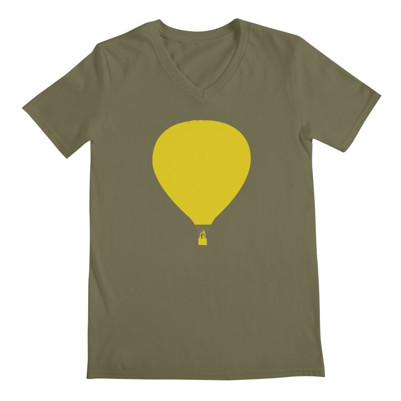 REMIND Balloon B Men's Regular V-Neck by Spaceboy Books LLC's Artist Shop