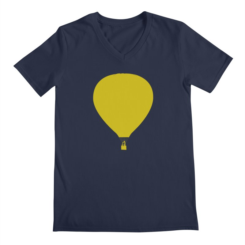 REMIND Balloon B Men's Regular V-Neck by Spaceboy Books LLC's Artist Shop