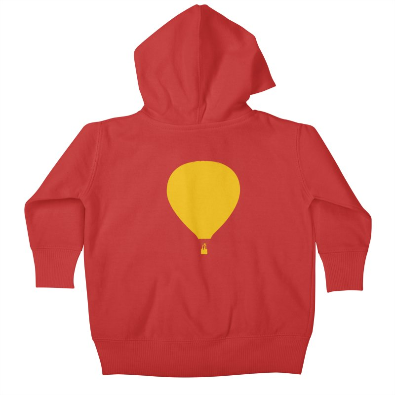 REMIND Balloon B Kids Baby Zip-Up Hoody by Spaceboy Books LLC's Artist Shop
