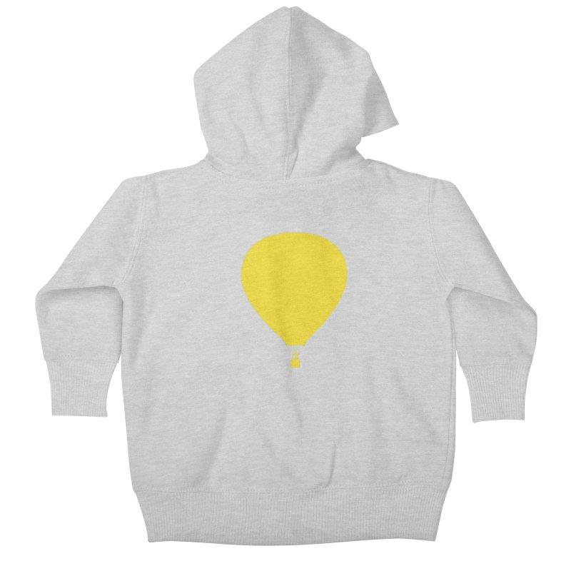 REMIND Balloon B Kids Baby Zip-Up Hoody by Spaceboy Books LLC's Artist Shop