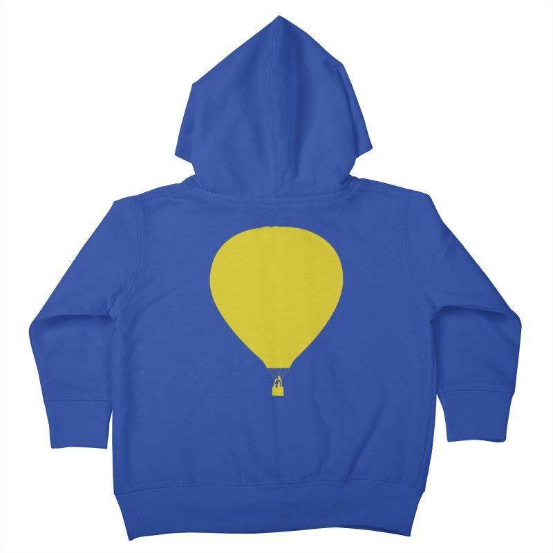REMIND Balloon B Kids Toddler Zip-Up Hoody by Spaceboy Books LLC's Artist Shop