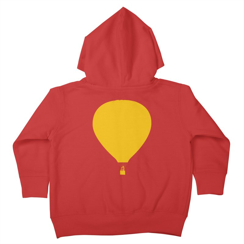 REMIND Balloon B Kids Toddler Zip-Up Hoody by Spaceboy Books LLC's Artist Shop