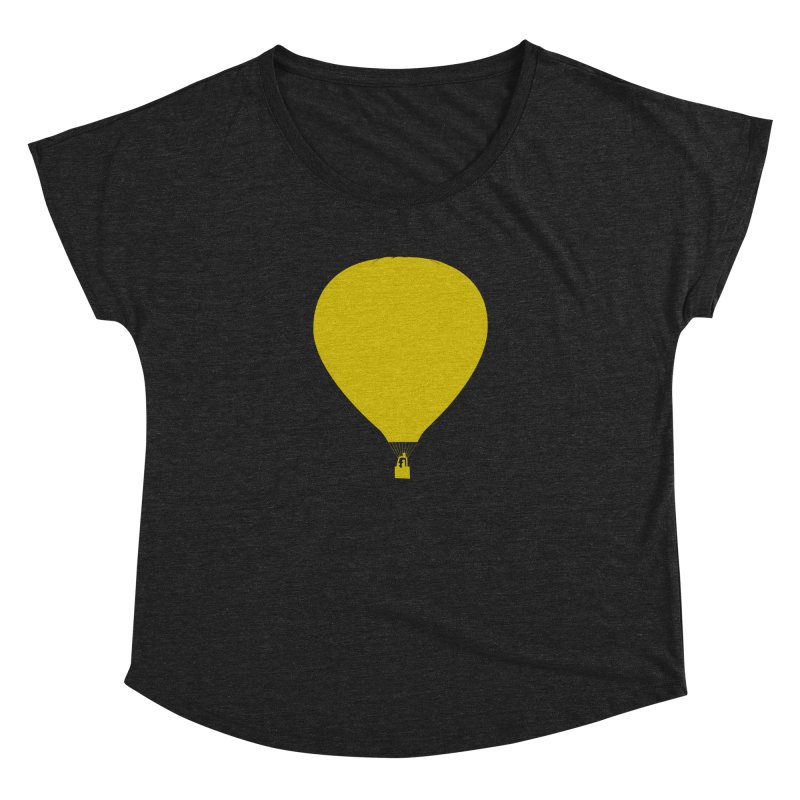 REMIND Balloon B Women's Dolman Scoop Neck by Spaceboy Books LLC's Artist Shop