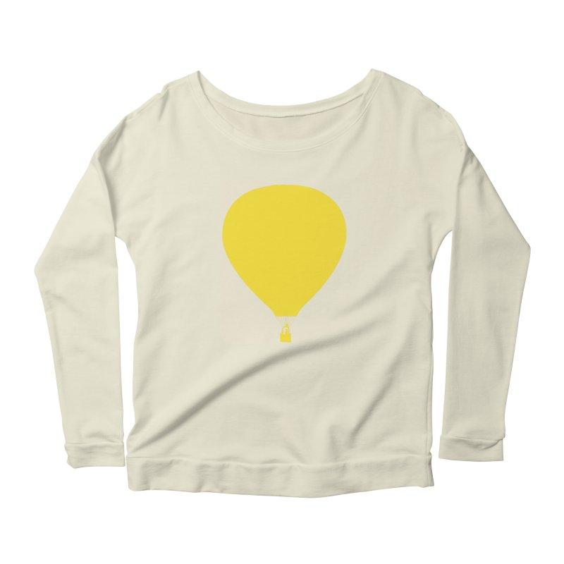 REMIND Balloon B Women's Scoop Neck Longsleeve T-Shirt by Spaceboy Books LLC's Artist Shop