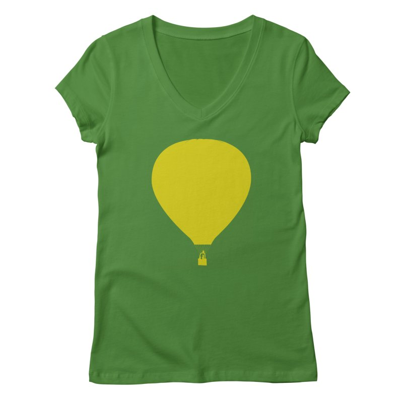 REMIND Balloon B Women's Regular V-Neck by Spaceboy Books LLC's Artist Shop