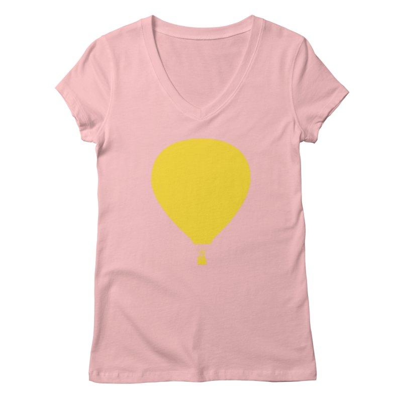 REMIND Balloon B Women's Regular V-Neck by Spaceboy Books LLC's Artist Shop